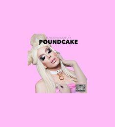 Alaska Thunderfuck - Poundcake Transparent album Cover