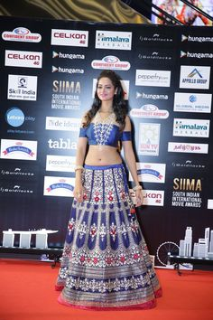 Shani Srivastava at SIIMA 2016. #Kollywood #Tollywood #Fashion #Style #Beauty #Hot #Sexy