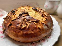 Základní mazanec s tuhým kváskem lievito madre Muffin, Bread, Breakfast, Recipes, Food, Morning Coffee, Brot, Essen, Muffins