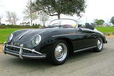 Im not a huge antique car guy but this 1958 Porsche Speedster stirs me.