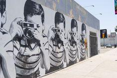 Street art by Mr. Brainwash