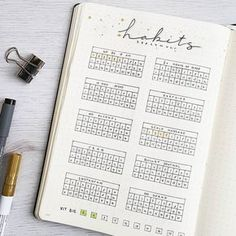 """Bullet Journal (@bu.joos) on Instagram: 'S E P T E M B E R // habit tracker First time not using the """"traditional"""" habit tracker. This took…'"""