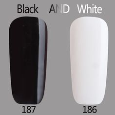 DEAL ONLY LIMITED QUANTITY HURRY UP black and white Color Series UV Gel Base Top Coat UV Lamp Nail Art Design Hot Sale Nail Gel