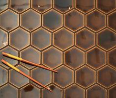 Setto 2- Godai ConcaveHex in Gloss Brown