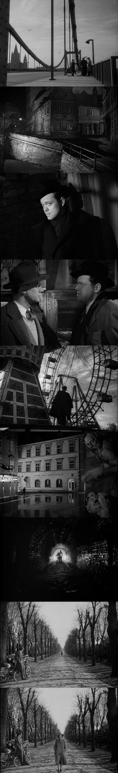 The Third Man (1949) - Cinematography by Robert Krasker | Directed by Carol Reed