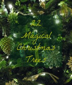 Laurel Bern Interiors List for 22 Magical Christmas Trees