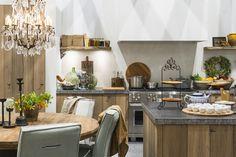 keukens in de landelijke stijl vind je op de vt wonen&design beurs, rai amsterdam. landelijke keuken.
