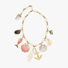 Brinker & Eliza Higgins Under the Sea charm necklace, $228, brinkerandeliza.com