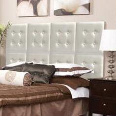 Luxe Grey Upholstered Headboard Wall Panel - Set of 8