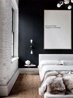 Check Out The Previous Post In The Series:u0026nbsp;Inspiring Examples Of  Minimal Interior Design 2. 35 Edgy Industrial Style Bedrooms ...