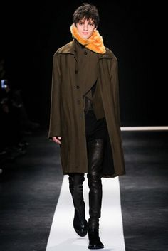 Ann Demeulemeester Fall 2015 Menswear Fashion Show: Complete Collection - Style.com