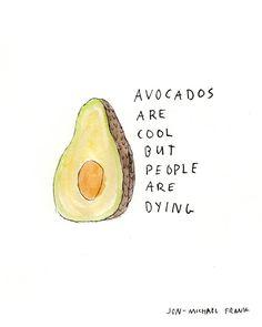 Avocados - Original Illustration