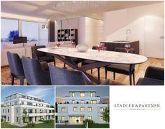 Erstbezug Riedenburg - Anspruchsvolle 3 Zimmer Garten-Wohnung! Villa, Conference Room, Dining Table, Salzburg, Furniture, Home Decor, Old Town, Real Estate, Homes