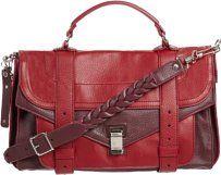 Proenza Schouler Deerskin Leather Rare Shoulder Bag