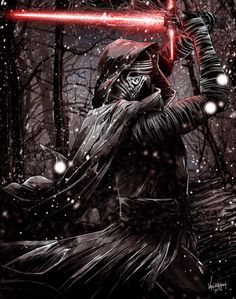 "thecyberwolf: ""Kylo Ren Created by JP Valderrama (The Fresh Doodle) / Fiind this artist on Tumblr - Twitter - Facebook - Pinterest / More Arts from this artist on my Tumblr HERE """