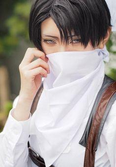 Levi Rivaille | Shingeki no Kyojin http://sp.cosp.jp/photo_info.aspx?id=7675362&m=46081 #cosplay #anime