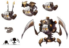 Nefarious Machine from Ratchet & Clank Future: A Crack in Time