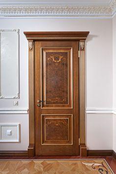 Panel Doors, Windows And Doors, The Doors, Tv Wall Design, Window Design, Wooden Door Hangers, Wooden Doors, Wooden Main Door Design, Interior Columns