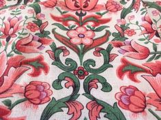 VINTAGE-RETRO-BARKCLOTH-CURTAIN-IDEAL-CUSHIONS-CRAFT-PROJECT