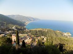 View from Greek Theater - Taormina, Sicily