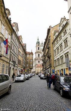 Streets of Malá Strana, Prague, Czech Republic