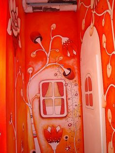 Definately inclined to use friends skills and talents to make the bathroom individual and characterful