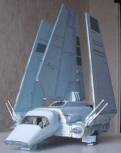 WWW.KONRADUS.COM - SZUFLADKI - [model] Prom TYDIRIUM z filmu Star Wars (Autor: Raziel)