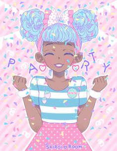 pastel party by shiroiroom on tumblr