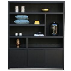 Living Room Cabinets, Built In Bookcase, My Dream Home, Sweet Home, New Homes, Home And Garden, Shelves, Interior Design, House Styles