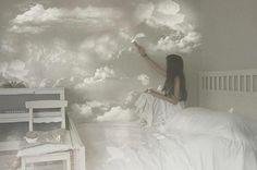 I'm creating my heaven.Soon I'll add some colour