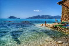 Checking out The Sea View From The Beach On Cameo island Zakynthos Photography by Alistair Ford