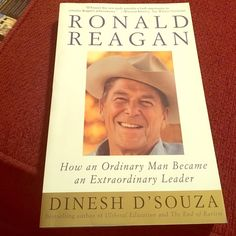 Book: Ronald Reagan by Dinesh D'Souza Paperback in great condition Other