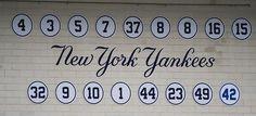 New York Yankees Retired Numbers,