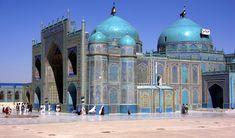 Balkh - Shrine of Hazrat Ali/Blue Mosque, Timurid 15th c.