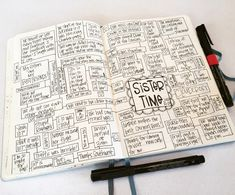 T. Matthews Fine Art: Bullet Journal Pages 74-75