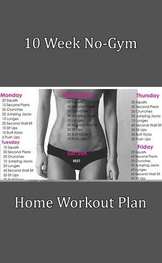 This mini-plan for both men and women can help you lose weight and gain muscle mass. What is best about it is that it can be done in the commodity of your home and you do not need to visit the gym nor use any special equipment.