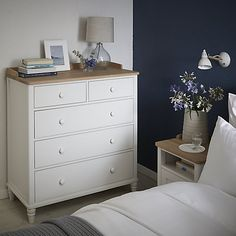 Buy John Lewis Croft Collection Skye 5 Drawer Chest Online at johnlewis.com