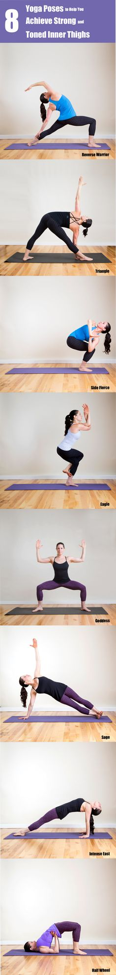 8 Yoga Poses to Help You Achieve Strong and Toned Inner Thighs