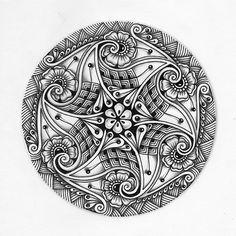 Zentangle, zendala & Doodling. - Виктория Власова - Picasa Web Albums