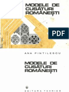 Modele de Cusaturi Romanesti Ana Pintilie Ed. Tehnica 1977 Reading Online, Sewing Patterns, Signs, Traditional, Blue Prints, Embroidery, Factory Design Pattern, Shop Signs, Sign