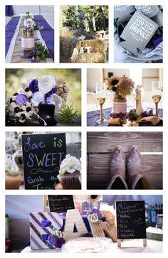 Burlap & Lace Wedding, Purple, green and grey wedding, vintage wedding, outdoor wedding, burlap flowers, Wedding photography colorado