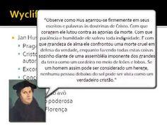 História da Igreja 31/56 - Wycliffe, Hus e Savonarola