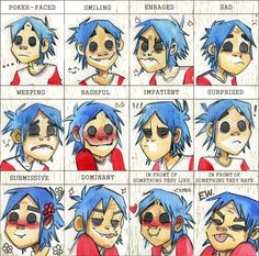 Many faces of 2D by Psychoon
