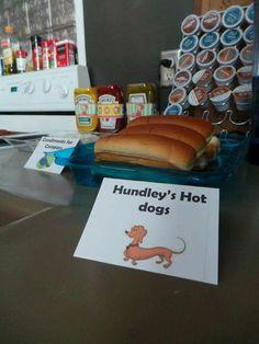 Curious George birthday decoration party idea DIY food