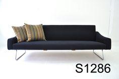 Wikkelsoe design black sofa