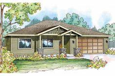 Craftsman House Plan - Dogwood 30-748 - Front Elevation