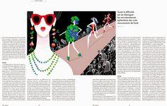 """Illustration """"IT-food"""" TGV Magazine"""
