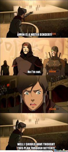 The Legend of Korra: fail