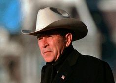 Some folks look at me and see a certain swagger, which in Texas is called 'walking' -George W. Bush