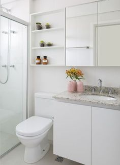 Shower Remodeling Farmhouse and Small Shower Remodel Layout. Bathroom Design Small, Bathroom Interior Design, Bathroom Wall Shelves, Small Shower Remodel, Dream Apartment, Cool Apartments, Apartment Furniture, Bathroom Inspiration, Sweet Home
